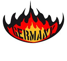 Germany fire flame design by Style-O-Mat