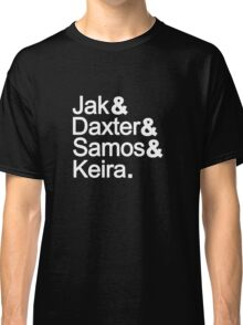 Jak & Daxter & Samos & Keira.  Classic T-Shirt