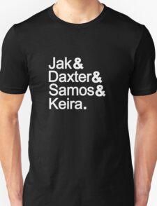 Jak & Daxter & Samos & Keira.  T-Shirt