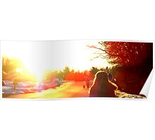 Sunflare Poster