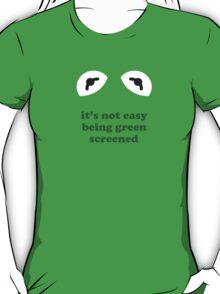 Kermit the frog - green screened T-Shirt