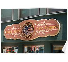 Hoboken Cigars Poster