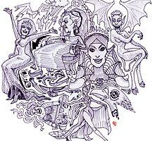 Evil Queens by Dan Paul  Roberts