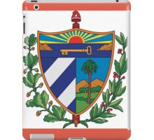 Cuban Coat of Arms iPad Case/Skin