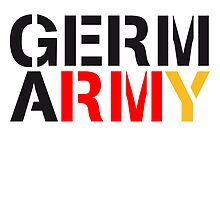 Germ Army Germany by Style-O-Mat