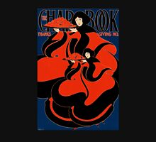 'Chapbook Thanksgiving' by William Bradley (Reproduction) Womens Fitted T-Shirt