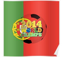2014 World Champs Ball - Portugal Poster