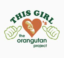 This Girl Tee 2 by The Orangutan Project