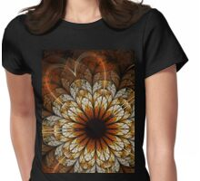Passion - Abstract Fractal Artwork Womens Fitted T-Shirt