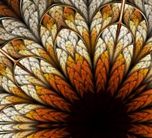 Passion - Abstract Fractal Artwork Sticker