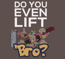 Do You Even Lift Bro - Pokemon - Conkeldurr Family by ShinobuSensui