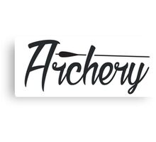 Archery Canvas Print
