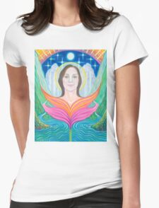 Amber~Lady of Light Womens Fitted T-Shirt