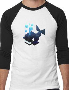 Poly Poly Whale Men's Baseball ¾ T-Shirt