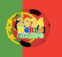 2014 World Champs Ball - Portugal by crouchingpixel
