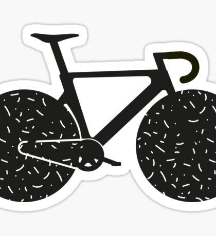 Track Bike Vector Art Sticker