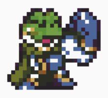 Frog / Glenn celebration - Chrono Trigger Kids Tee