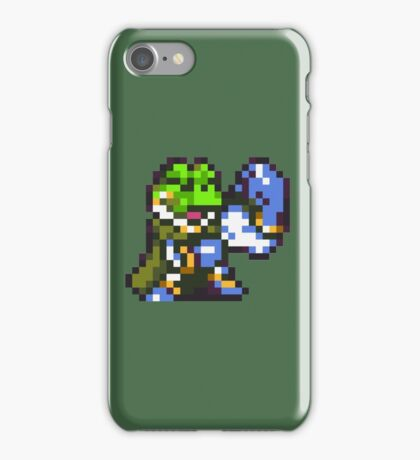 Frog / Glenn celebration - Chrono Trigger iPhone Case/Skin