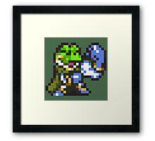 Frog / Glenn celebration - Chrono Trigger Framed Print