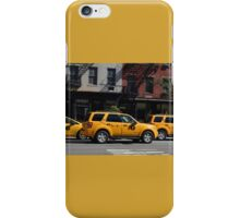 Taxi Cabs iPhone Case/Skin