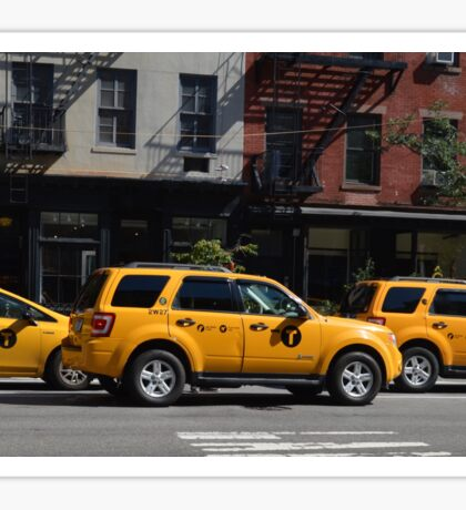 Taxi Cabs Sticker