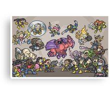 90s X-Men Canvas Print