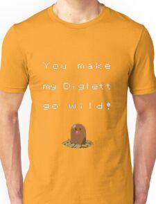 Naughty Pokemon! Unisex T-Shirt
