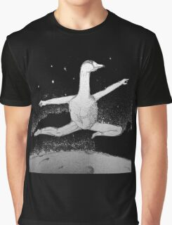 Graceful Goose Graphic T-Shirt