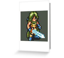 Frog / Glenn Human Form with Masamune - Chrono Trigger Greeting Card