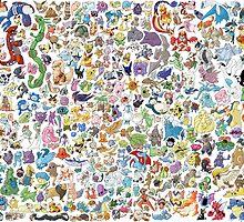 Pokemon by AliLovesCats