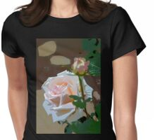 Rose 112 Womens Fitted T-Shirt