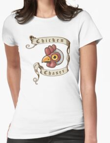Fable - Chicken Chaser Womens Fitted T-Shirt
