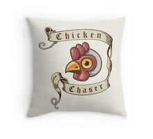 Fable - Chicken Chaser Throw Pillow