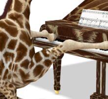 Musical Giraffe Sticker