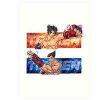 Tekken Jin/Kazuya Art Print