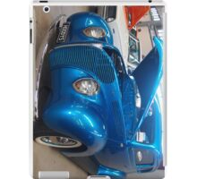 Blue Cruiser iPad Case/Skin