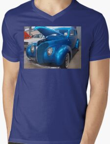 Blue Cruiser Mens V-Neck T-Shirt