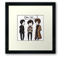 The Doctors Framed Print