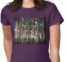 Verticle Reflectivity Womens Fitted T-Shirt