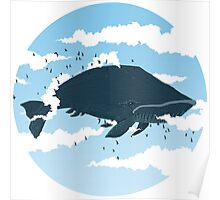 The Cloud Whale Poster