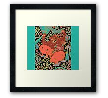 Peaceful Grazing Framed Print