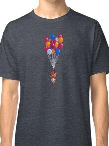 Crono and Marle - Balloon Celebration - Chrono Trigger sprite Classic T-Shirt