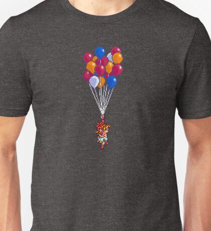 Crono and Marle - Balloon Celebration - Chrono Trigger sprite Unisex T-Shirt