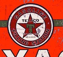 Texaco Sign (Crop) by gvcruising