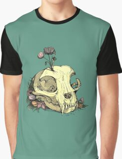Little Skull Colour Graphic T-Shirt