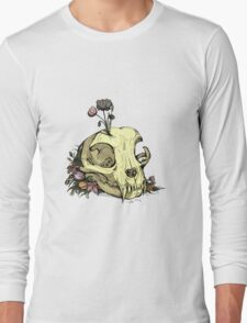 Little Skull Colour Long Sleeve T-Shirt