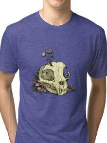 Little Skull Colour Tri-blend T-Shirt