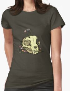 Little Skull Colour Womens Fitted T-Shirt