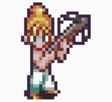 Marle / Nadia - Chrono Trigger sprite One Piece - Long Sleeve