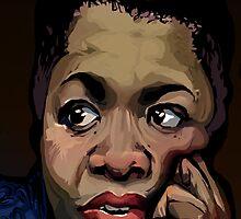 Maya Angelou by Jodediah